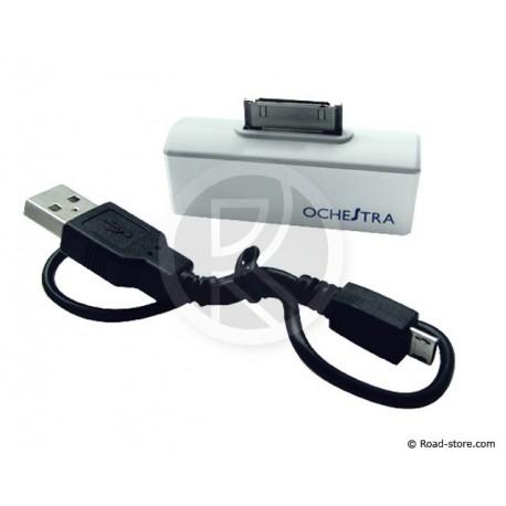 BATTERIE DE POCHE iPHONE 3/4 MICRO USB 800mA