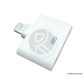 LIGHTNING TO DOCK ADAPTER 5 iPHONE / iPAD 3 ...