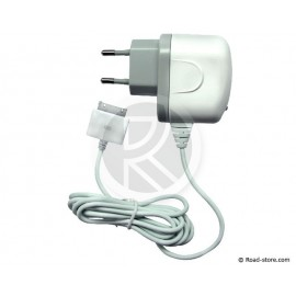 CHARGEUR iPHONE, iPOD, iPAD, iTOUCH 220V
