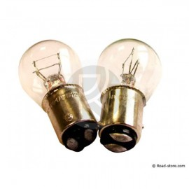 Bulb BAY15D 21/5W 24V x2