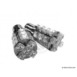 Bulb 20 LEDS BA15S 24 VOLTS White
