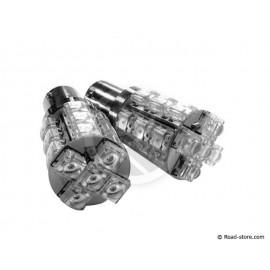 Bulb 20 leds BA15S 24V white