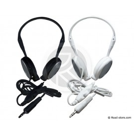 Stereo Headphones BLACK or WHITE
