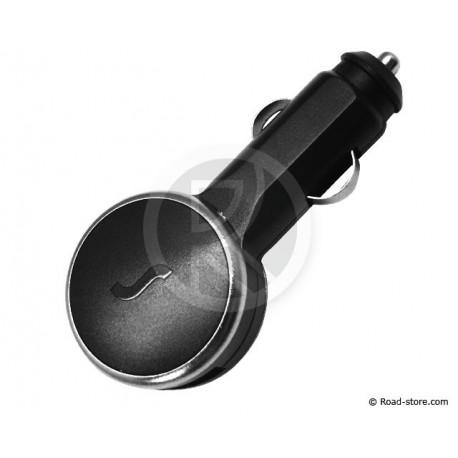 SOCKET USB DUAL 5V MAX 12/24V 2100 mA