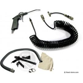 Reinigungset : Vacuum + druckluftpistole MAN / MERCEDES