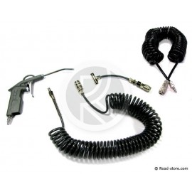 Cleaning Kit : Air duster Gun MAN/MERCEDES + Spiral Extension 10 m