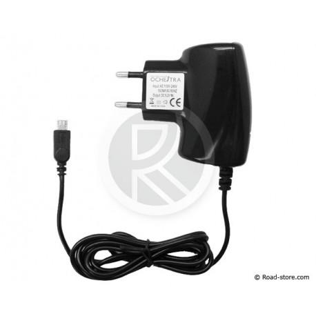 Ladegerät 220V Smartphones MICRO USB 1000MA