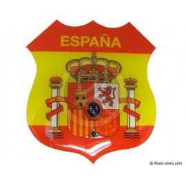 Relief Sticker Klebstoff SPANIEN 112x120mm