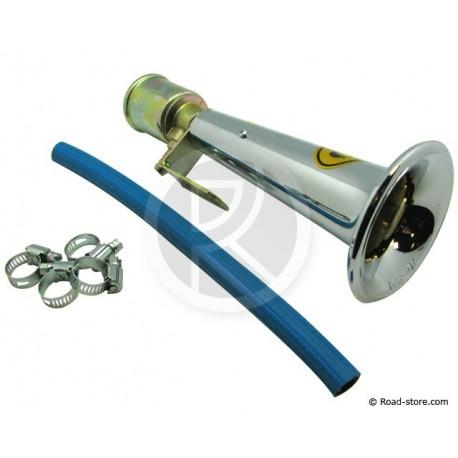 Turkish Whistle 24V Chrome