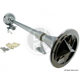 Truck horn with star cover 24V DC/CC