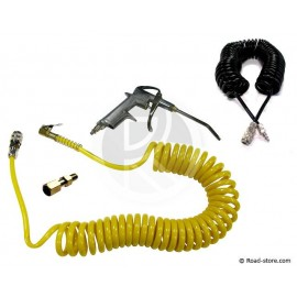 Cleaning Kit : Air duster Gun SCANIA + Spiral Extension 10 m