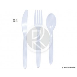 Plastic Cutlery SET OF 12 PCES