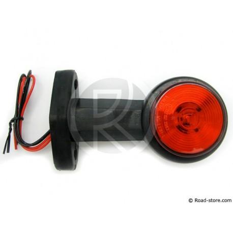 LEFT/RIGHT Stalk Side Marker 20 LEDS 24V 13CM