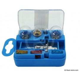 Ersatzlampenbox H1 12V 5 Glühbirnen + 3 Sicherungen