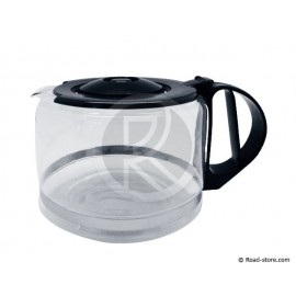 "CAFETIERE POT EN VERRE POUR ""GRAND CAFE"" 10-12 TASSES"
