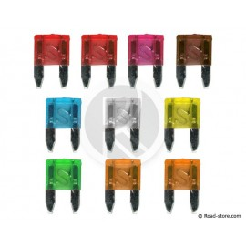 Mini Plug-In Fuses 10 pieces