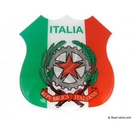 """Self-adesive embossed sticker """"ITALIA"""""""