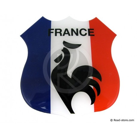 "SELF-ADHESIVE EMBOSSED STICKER ""FRANCE"""