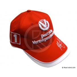 Mütze F1 Ferrari Michael Schumacher