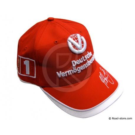 F1 cap Ferrari Michaël Schumacher