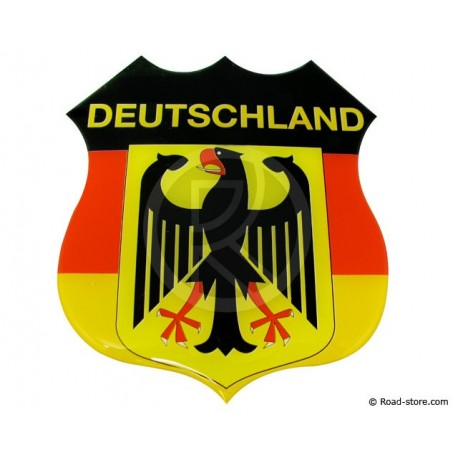 "Relief Sticker Adhesive ""GERMANY"" 112x120mm"