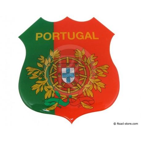 Self-adesive embossed sticker PORTUGAL