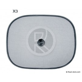 Sunshield SET of 3 PCES (1x 100x50cm - 2x 44x35cm)