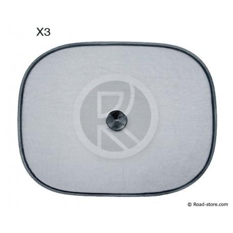 Sonnenschutzen SET 3 PCES (1x 100x50cm - 2x 44x35cm)