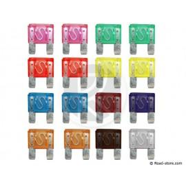 FUSIBLE FICHE GM x 16 pces (20  100A)