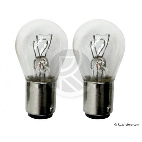 Bulb 12V 21/4W BAZ15D x2