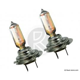 Spare bulbs H7 12V 55W xenon mega white x2
