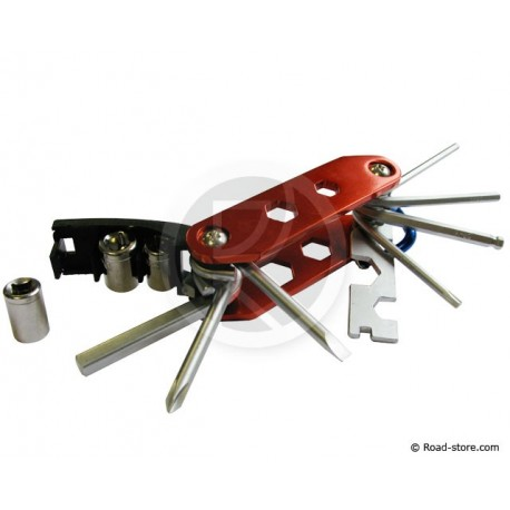 Multi-tools with 14 in 1