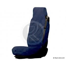 Universal Sitzbezüge Blau Kunstleder für Lkw