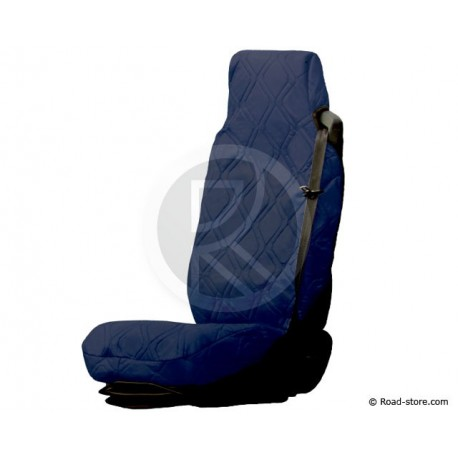 Universal Seat Cover Blau Simulated Leather