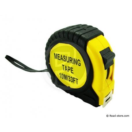 Meter Ruler Tape 10M X 25MM + CLIP