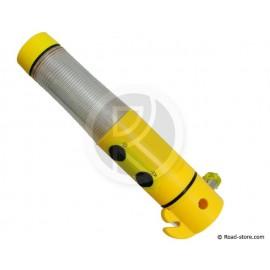 LAMPE TORCHE SPECIALE SECURITE ROUTIERE 5 EN 1