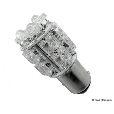 Bulb 13 LEDS BAY15D 24V White (STOP LIGHT)