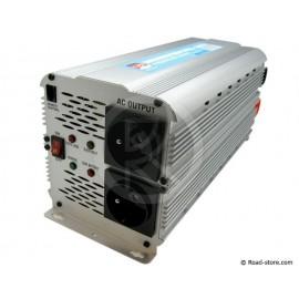 CONVERTISSEUR 24V/230V/2500W DC/AC