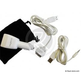 Ladegerät iPOD & iPOD SHUFFLE 2 PORTS USB 12V