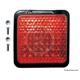 Marker Light 49 LEDS 10-30V 12X12CM Red