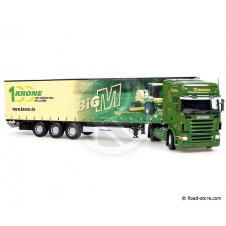 "Truck scale models 1:50 SCANIA R580 + KRONE trailer ""BIG M"""