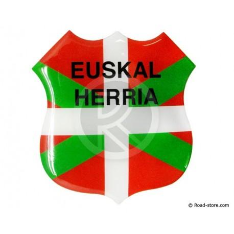 Relief Sticker Adhesive Euskal Herria 112x120mm