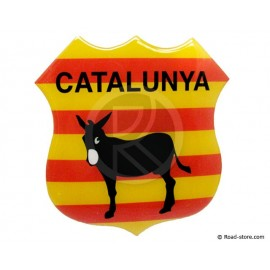 "Relief Sticker Klebstoff ""CATALUNYA"" 112x120mm"