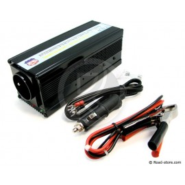 CONVERTISSEUR 24V/230V/400W + PORT USB