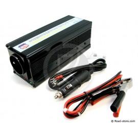 Konverter 24V/230V/400W + PORT USB