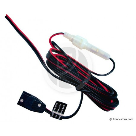 Power Cable CIBI 2 x 0,5mm2 +  Fuse holder