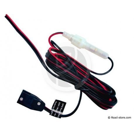 Stromkabel CIBI 2 x 0,5mm2 + Sicherungshalter