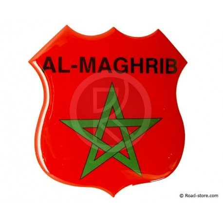 Relief Sticker Adhesive Al-Maghrib 112x120mm