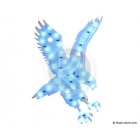 Dekoration Adler LEDS 24V Blau