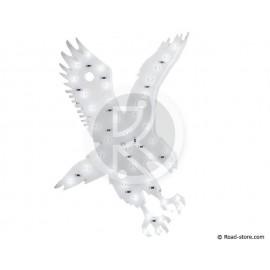 Dekoration Adler LEDS 24V Weiß